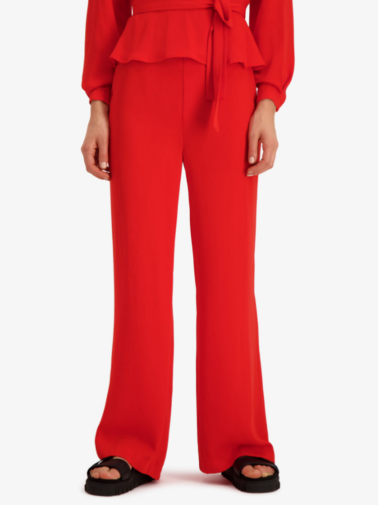 Vacation Trouser Bright Red