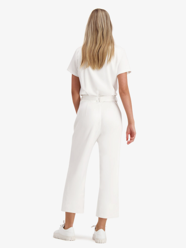 Unified Jumpsuit White