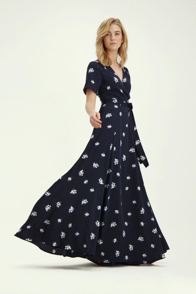 Love Dress Blue Flower