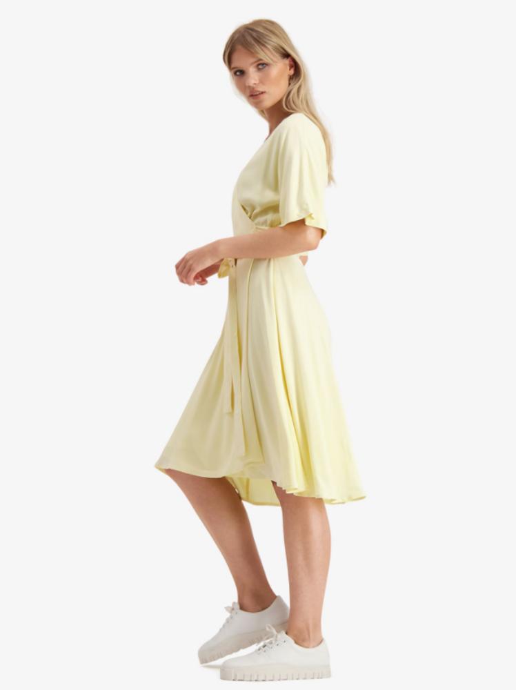 Osa Dress Light Yellow
