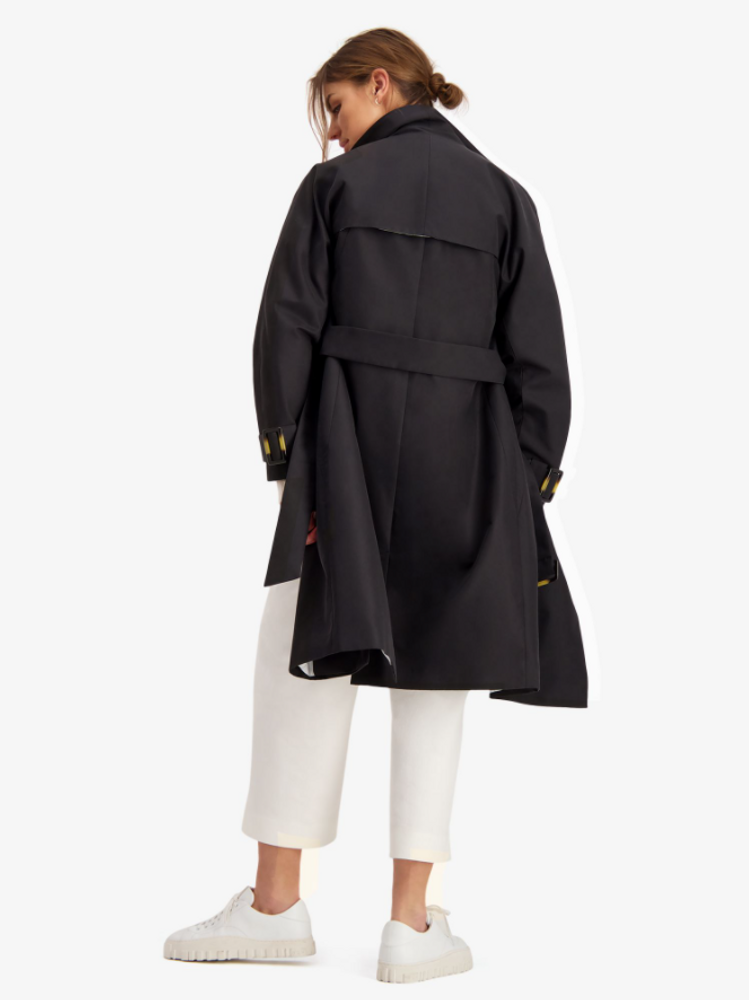 Proper Trench Coat Black