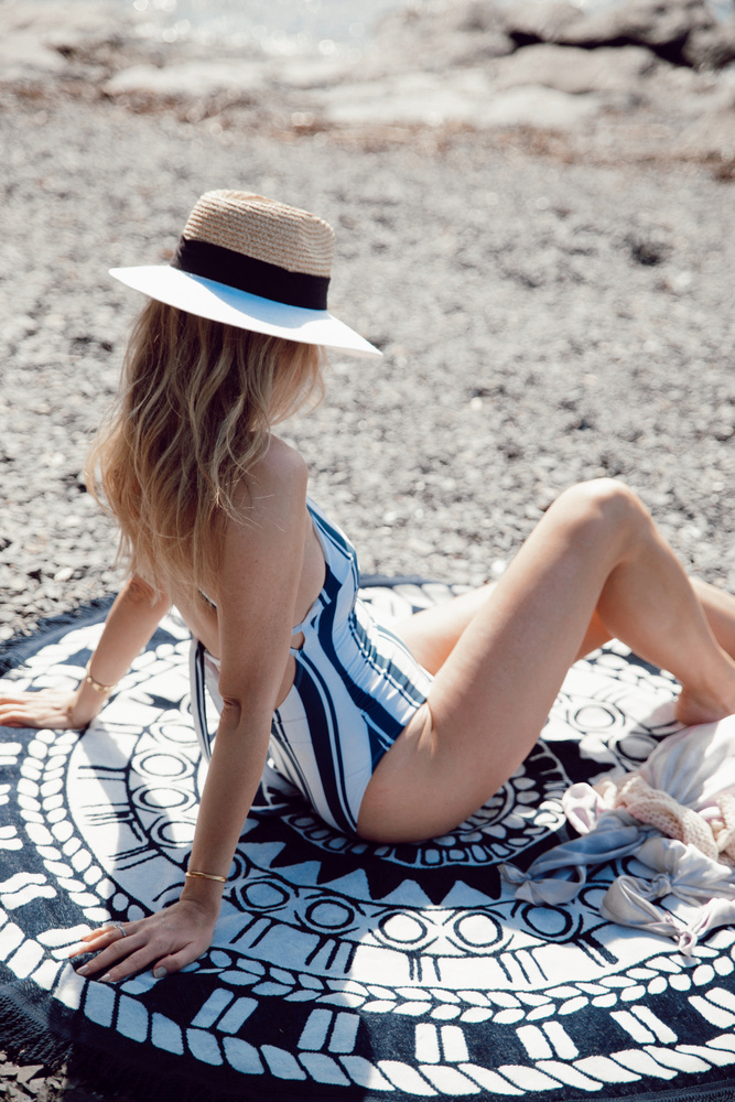 Sunshine Towel Blue Ocean