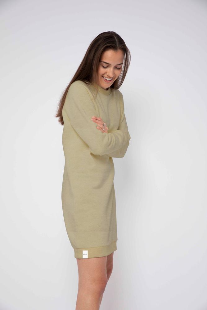 Comfy Dress Green Melange
