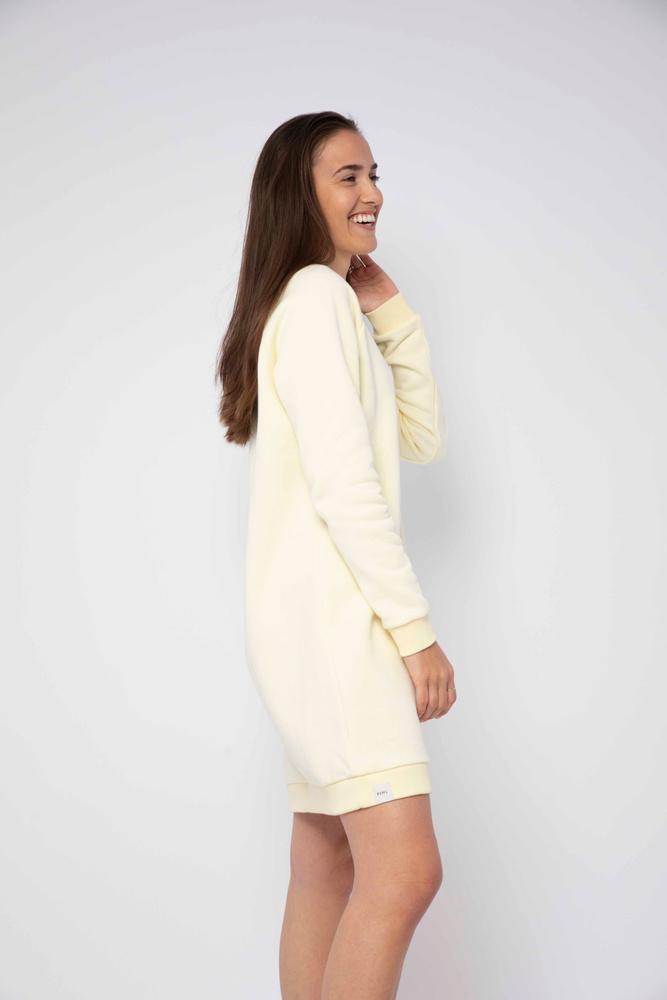 Comfy Dress Light Yellow