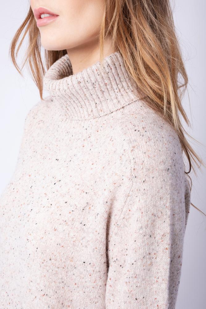 Evelyn Knit Dress  Sand Tweed Melange