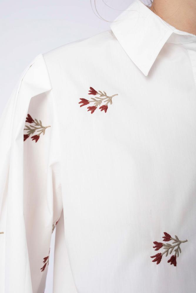 Sofia Shirt Embroidered Amaryll
