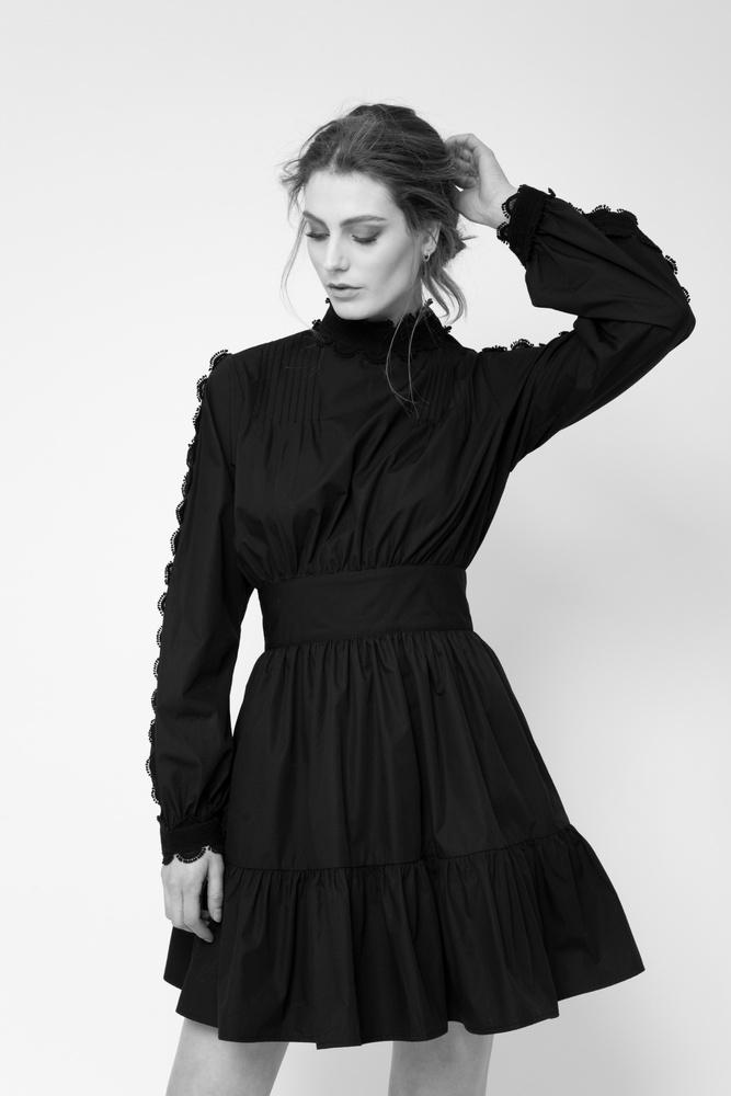 Ingri Dress Black