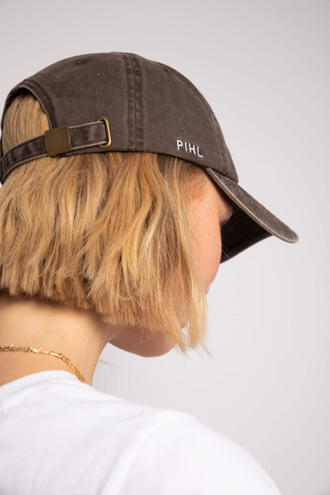 Lily Cap Washed Taupe