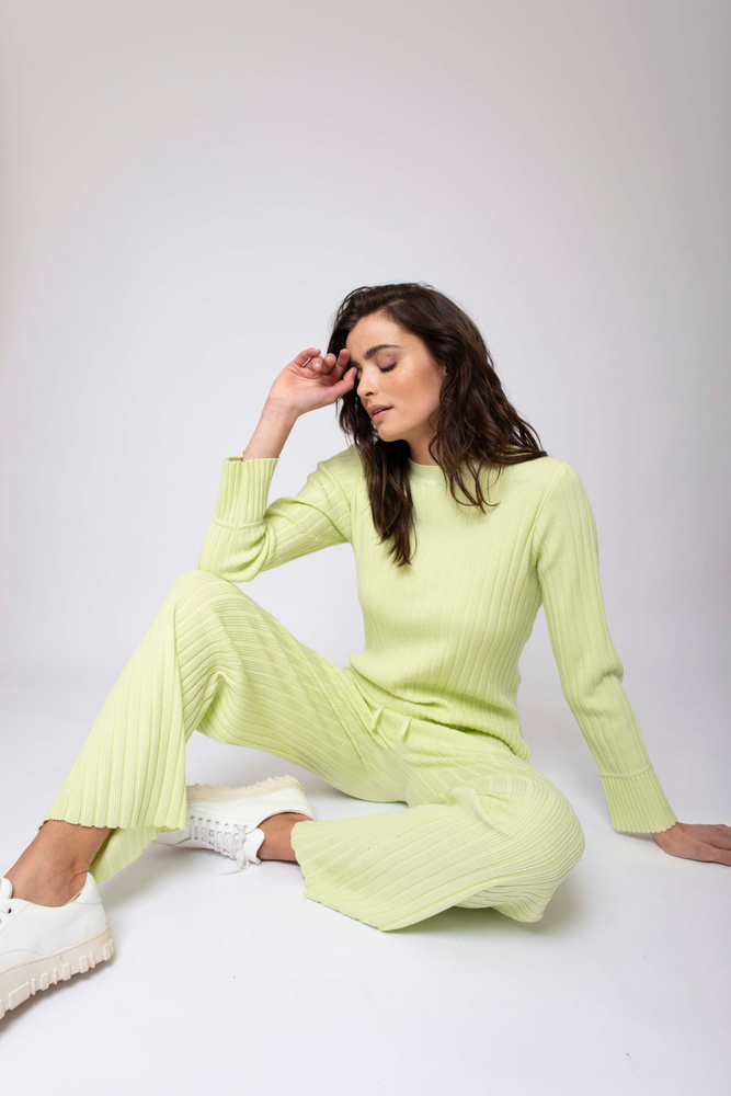 Valeria Knit Lime