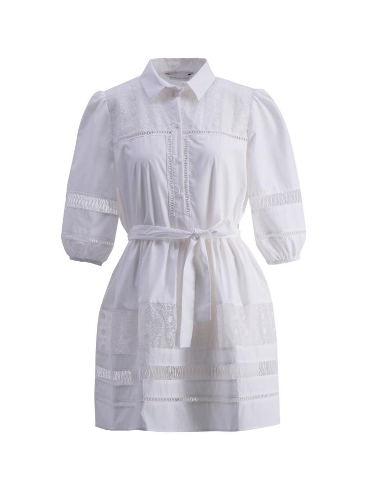 Katarina Dress  White