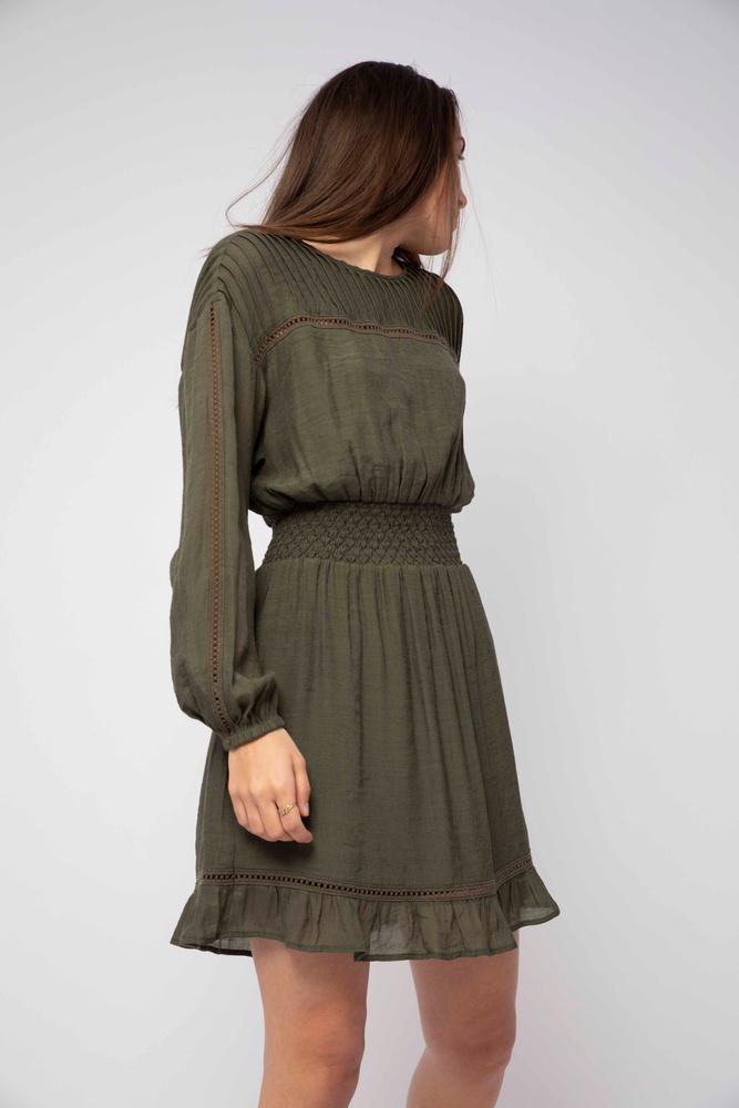 Julie Dress  French Olive