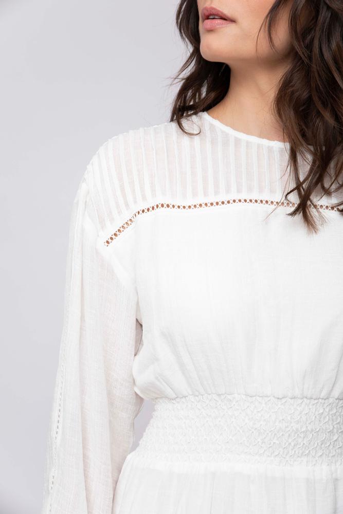 Julie Dress  White