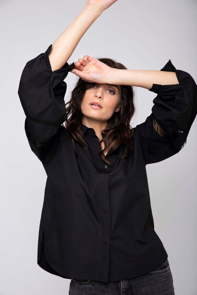 Kornelia Shirt  Black