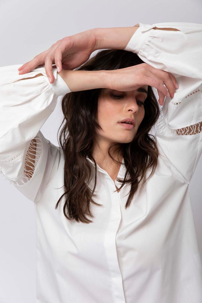 Kornelia Shirt  White