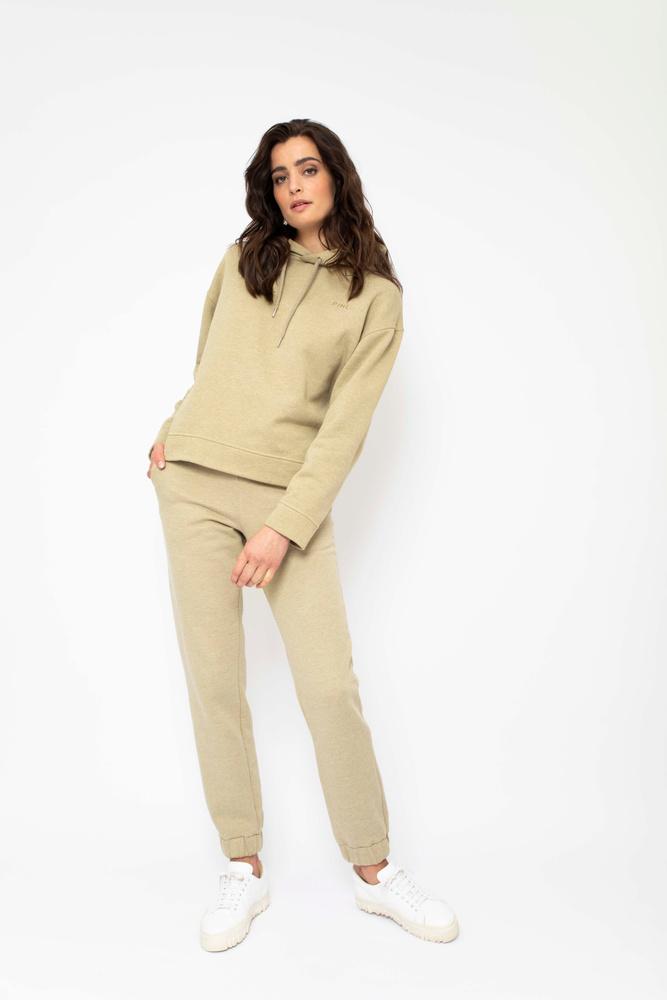 Roxana Sweat Trouser  Green Melange