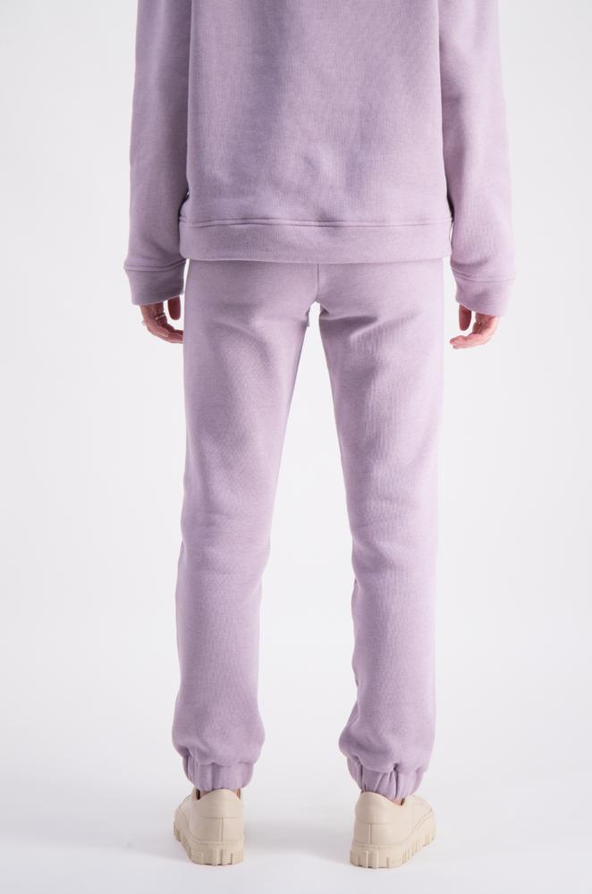 Roxana Sweat Trouser  Lavender Melange