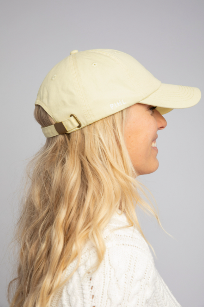 Lily Cap Washed Yellow