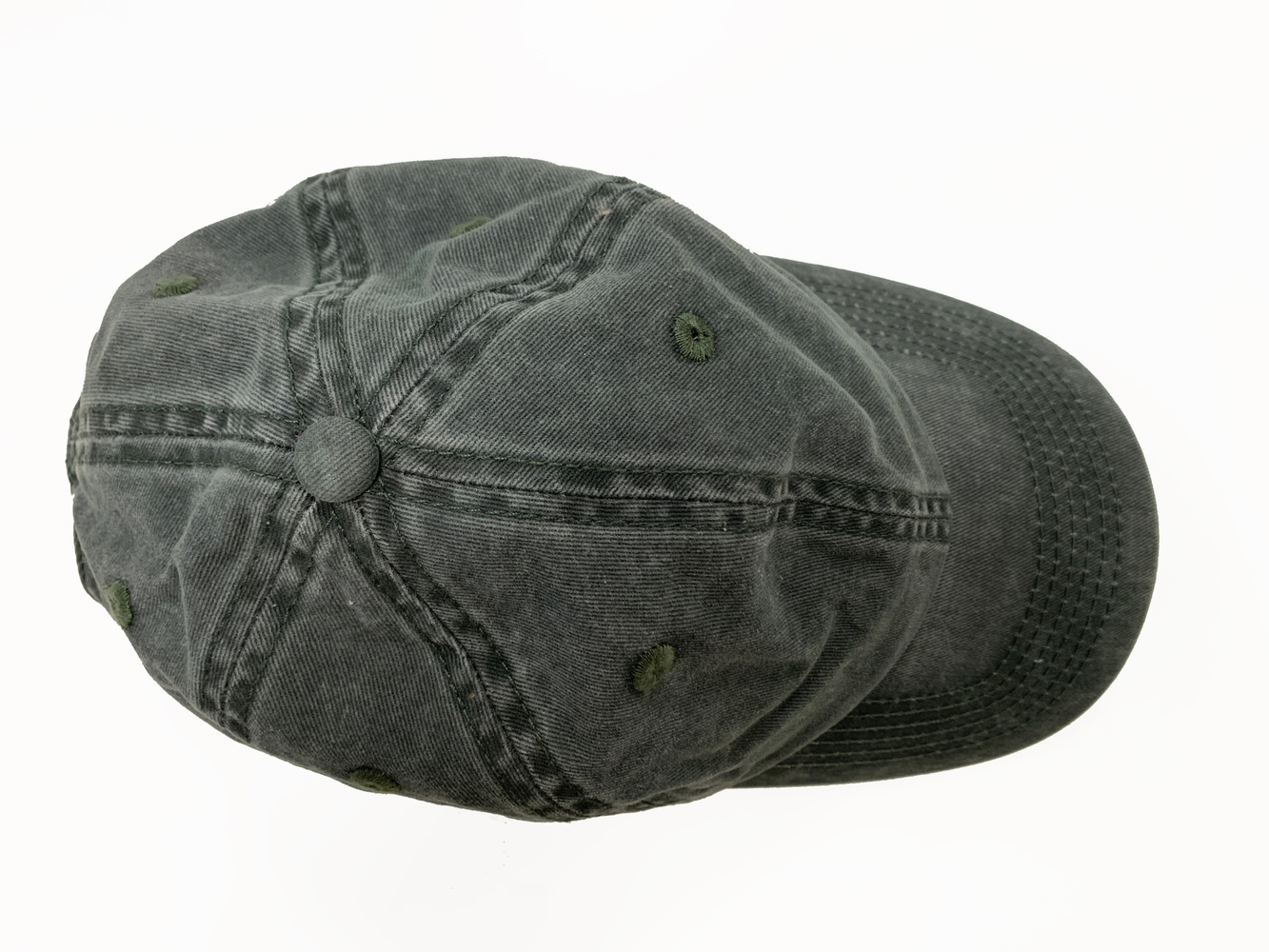 Lily Cap  Washed Army
