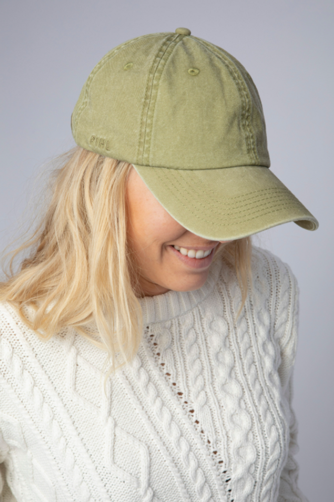 Lily Cap Washed Olive