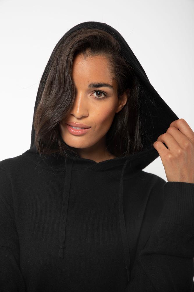 Multe Hoodie Knit Black
