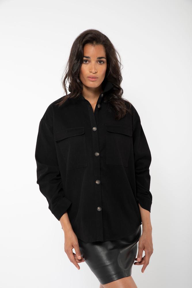 Sylvia Shirt Black
